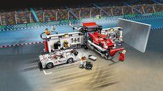 LEGO Porsche 919 Hybrid and 917K Pit Lane kopen uit thema Speed Champions voor een mooie prijs €87,95! De Leukste LEGO bestel je online bij https://www.olgo.nl
