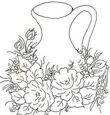 Resultado de imagem para copos de leite pintados em tecido