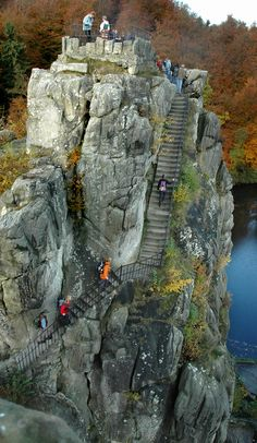 Externsteine, Teutoburger Wald - Google Search