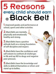 Every child should train martial arts!