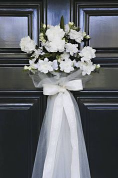 Wedding Shower Door Decor Ideas Photo
