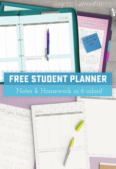 Love it? Share with your friends!It is hard to believe that it has been 5 years since I made my first printable planner. It was 2013 when I first introduced the student version for free, and its still one of my most popular pins. Over the years I've given the printables for free, I've soldRead more