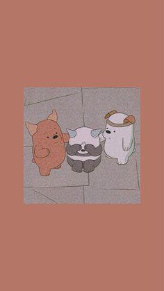 Cute Panda Wallpaper, Cartoon Wallpaper Iphone, Iphone Wallpaper Tumblr Aesthetic, Bear Wallpaper, Cute Patterns Wallpaper, Iphone Background Wallpaper, Cute Disney Wallpaper, Aesthetic Pastel Wallpaper, We Bare Bears Wallpapers