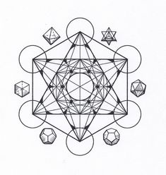 Symbolism The Platonic Solids Tattoo Design And Culture