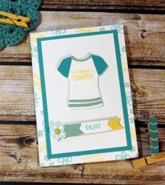 stampin-up-stamping-t-builder-t-shirt-card, Custom Tee