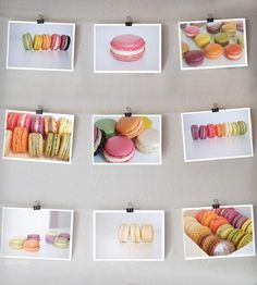 These photos just make me happy. Yep. Happy. :: Macarons Photo Prints - Set of 9 by Sonja Caldwell Photography