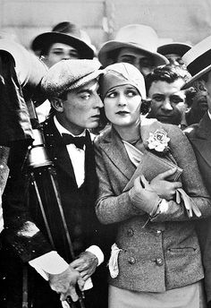 Buster Keaton and Marceline Day, The Cameraman — 1928
