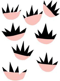 Pattern illustration by Ashley Goldberg Textile Patterns, Print Patterns, Textiles, Surface Design, Collages, Branding, Art Clipart, Color Shapes, Pattern Illustration
