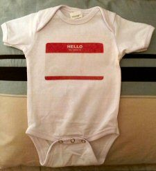 Name Onesie from Stacy Sews - Diary of a Fabric Junkie