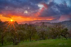 Magnificent sunset by traveleronthebackroads