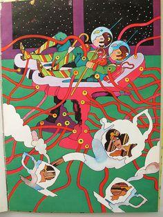 09 Heinz Edelmann, Andromedary SR!, 1970 by 50 Watts, via Flickr