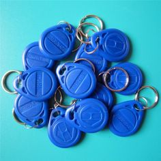 [Visit to Buy] 125khz RFID T5577 Keyfobs Rewritable Copy Clone Key Tags Access Control Card #Advertisement