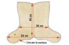 Calza della Befana con Dolcetti di Feltro: Falli tu! By www.lunadeicreativi.com