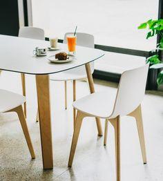 Lottus Wood Chair — Enea Design