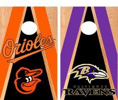 48 x 24 premium sanded Birch tops. Cornhole Set, Cornhole Boards, Board Games, Game Boards, Mlb Teams, Baltimore Orioles, Dear Santa, Baseball, Softball
