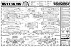 USCSS Nostromo Blueprints