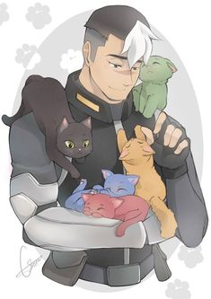 Shiro / Voltron / Space Dad