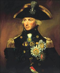 Lord Nelson was one of the greatest naval commanders in British history. He died leading the British troops to victory in the Battle of Trafalgar in 1805.