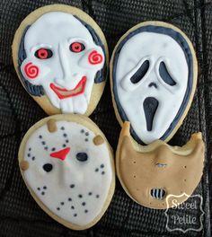 Comida De Halloween Ideas, Halloween Cookie Recipes, Halloween Dishes, Halloween Cookies Decorated, Halloween Sweets, Halloween Baking, Halloween Goodies, Halloween Food For Party, Halloween Cakes