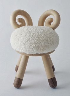 I really like this stool because this chair is soft on the top so the students don't get hurt on the but also you could make it acct like a bean bag so the kids move but they still stay on the chair. this is also not sharp and it is easy to carry