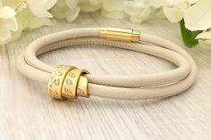 Coordinate bracelet  Custom coordinates  latitude longitude