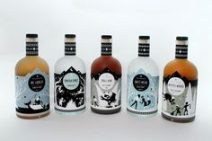 Folksaga Liquor Packaging Who? Caleb Heisey – Makes you want to drink it and just keep the bottle (and packaging) to yourself, doesn't it?