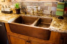 Tuscan kitchen sink