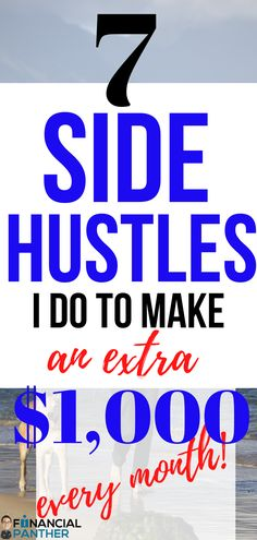 Want to know how I make an extra $1000 every month? Financial Panther teaches you all about these money making ideas that will help you to pay off debt, make money and on the path to financial freedom! Discover how I make money with these side hustle ideas. #sidehustles #makingmoney #money #financialpanther #financialfreedom Make Money Now, Make Money From Home, Make Money Online, Budgeting Finances, Starting Your Own Business, Debt Payoff, Extra Money, Personal Finance, Making Ideas