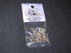 GHANK YOU, MICHAEL for this tutorial. how to make stitch markers- simple, easy and great picture and instructions. Nice surprise at the end (even though it shouldn't have been! Knitting Help, Loom Knitting, Knitting Stitches, Knitting Patterns, Crochet Patterns, Knitting Ideas, Crochet Tools, Knit Or Crochet, Crochet Supplies