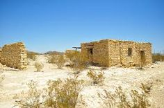 Ghost Town - Terlingua, Texas