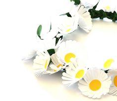 daisies,  paper flowers