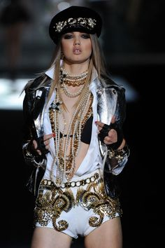 Killing it.    DSquared SS13 #mfw