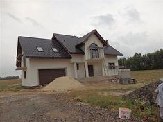 Projekt domu Heliodor - murowana – beton komórkowy 184,5 m2 - koszt budowy - EXTRADOM Home Exterior Makeover, House Design, Cabin, House Styles, Home Decor, House Paintings, Modern Houses, Trendy Tree, Pictures