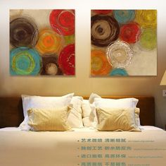 modern abstract painting Colored circles decorative artist canvas wall art for home Poster picture print living room decoration _ {categoryName} - AliExpress Mobile Version - Abstract Art Painting, Art Painting, Wall Art Prints, Circle Wall Art, Abstract Painting, Painting, Modern Abstract Painting, Art, Canvas Painting