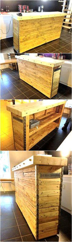 pallets-wood-made-bar