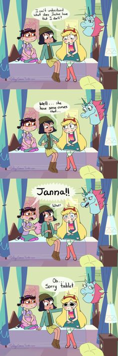 Janna's harsh but not dishonest.