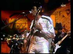 Johnny Guitar Watson - 1977 Concert on German TV Show: Musikladen - AMERICA ROAD RADIO!