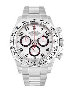 Check out the great use of red and black on this Rolex Daytona 116509 worth over £20,000!