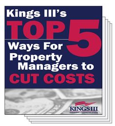 The Top 5 Ways to Cut #PropertyManagement Costs