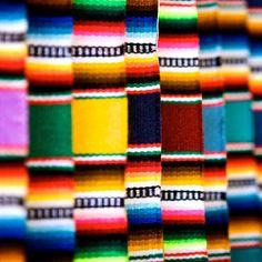 Mexican Serape. Such pretty colors