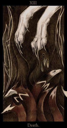 La Mort by Skia.deviantart.com on @DeviantArt