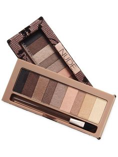 Probably one of the BEST dupes for the naked pallet I have ever seen, great shadows that have the exact same texture and go on just as pigmented as the naked pallet. These Physicians formula pallets are the way to go