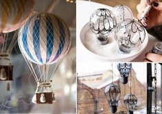 Balloons in the interior of 10 fabulous homemade accessories