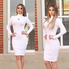 zpr - Vestido Gabi - Sob encomenda: Em todas as cores - Pronta entrega: Branco ▫️▫️▫️▫️▫️▫️ ▫️ ▫️ 👉🏻 Preço: R$250,00 - Compras pelo whats (43)9679-5828 . . . . . . . . . . . . . . . . . . . . . #BeatrizComZ #blusas #lindas #atacadoevarejo #varejo #inlove #atacado #tricot #tricotbrand #cores #colors #vendasdireta #vendas #vendasonline #linda #vendaspelowhatsapp #vendaspelosite #ecommerce #apaixonada #news #novidades #muitasnews #vendasparana #parana #brasil #dress #todasascores #tumblr…