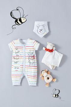 Fancy a game of Pooh sticks? Twin Baby Girls, Carters Baby Boys, Baby Girl Names, Baby Kids, Disney Baby Clothes, Cute Baby Clothes, Baby Girl Fashion, Kids Fashion, Fashion News