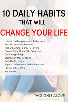 if you want to improve your life start these 10 daily habits and you will see your life changing drastically. habits| habits of successful people| habits to start| healthy habits| habits bullet journal|
