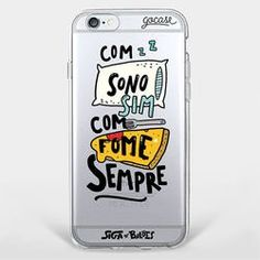 Capinha para celular Fome Sempre Iphone 5s, Iphone Cases, Cute Cases, Cute Phone Cases, Pop Sockets Iphone, Disney Phone Cases, Stranger Things Netflix, Lettering Tutorial, Cell Phone Covers