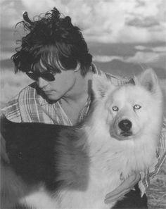 Johnny Depp & friend, equally beautiful. . ..