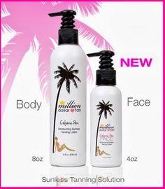 Million Dollar Tan - Cabana Tan for Face and Body.