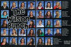 Brady Bunch themed Faculty pages in your Yearbook is a Fun idea!!  #school #yearbook #yearbookideas #faculty #facultyportraits #bradybunch #theme #funny #pages #creative #teachers #staff